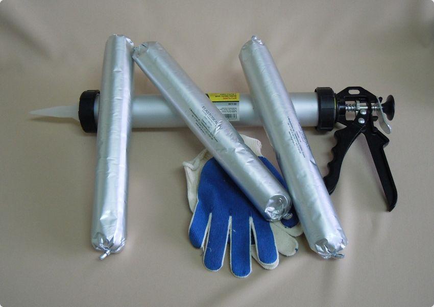 Матеріали для герметизації швів